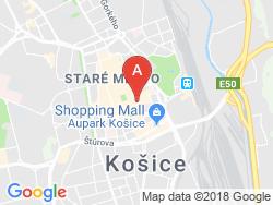 Boutique Hotel BRISTOL Mapa