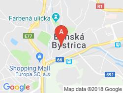 Apartmány ACCORD Mapa