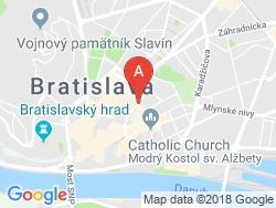Hostel BLUES Mapa