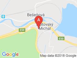 Vila MICHAL Mapa