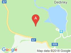 Rekreačný domček JARKA Mapa