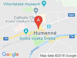 Milénium Café & Penzión Mapa