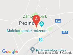 Palace Art Hotel Pezinok Mapa