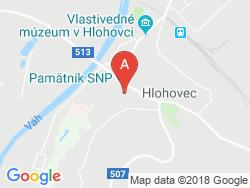 Hotel JELEŇ Mapa