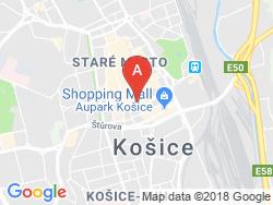 Hotel ZLATÝ DUKÁT Mapa