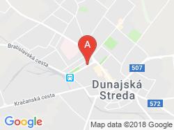 Penzión a reštaurácia VILLA ROSA Mapa