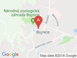 Ubytovanie ANNA HARAGOVÁ Mapa