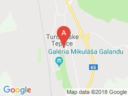 Liečebný hotel VEĽKÁ FATRA  Mapa