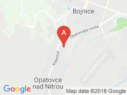 Liečebný dom Bôrina (BANÍK) Mapa