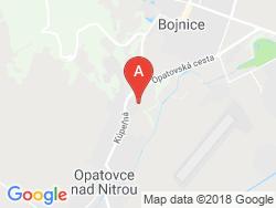 Liečebný dom TRIBEČ Mapa