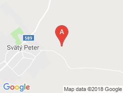 Penzión St. Petrus Vini Mapa