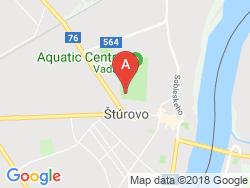 Apartmány a Štúdiá SMARAGD - Thermal VADAŠ Resort  Mapa