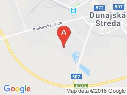 THERMALPARK Dunajská Streda - Penzión BIELY DOM Mapa