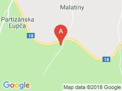 Drevenice Magura Village Mapa