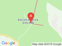 Hotel Bachledka Strachan Mapa