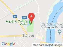 Apartmány PLATAN - Thermal VADAŠ Resort  Mapa