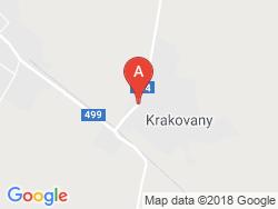 Chateau Krakovany Mapa