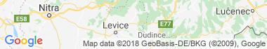 Žemberovce Mapa