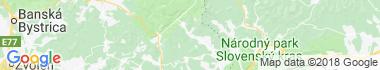 Revúca Mapa