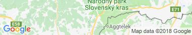 Gemerská Hôrka Mapa