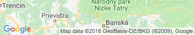 Harmanec Mapa