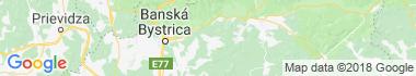 Ľubietová Mapa