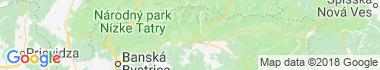 Aquaparky a termálne kúpaliská Horná Lehota Mapa