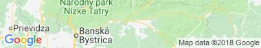 Hronec Mapa