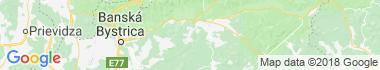 Osrblie Mapa