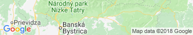 Podbrezová Mapa