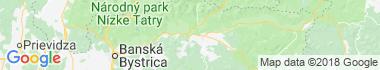 Piesok Mapa