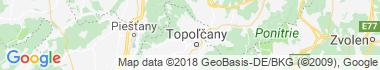 Jacovce Mapa