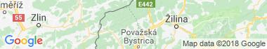 Papradno Mapa
