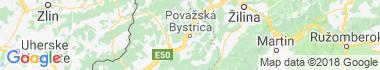 Považská Bystrica Mapa