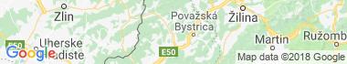 Púchov Mapa