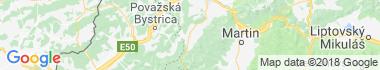 Rajec Mapa