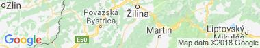 Rajecké Teplice Mapa