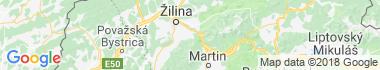 Stráňavy Mapa