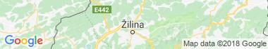 Žilina - Brodno Mapa
