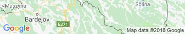 Medzilaborce Mapa