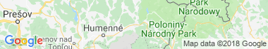 Snina Mapa