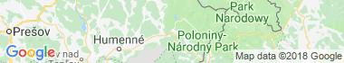 Stakčín Mapa