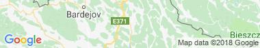 Stropkov Mapa