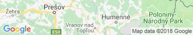 Slovenská Kajňa Mapa