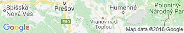 Zámutov Mapa