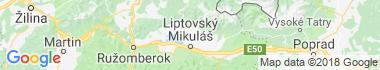 Bobrovec Mapa