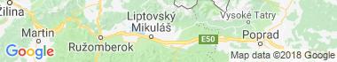 Jakubovany Mapa