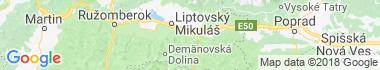 Liptovský Hrádok Mapa