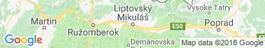 Liptovský Mikuláš Mapa