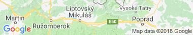 Pribylina Mapa